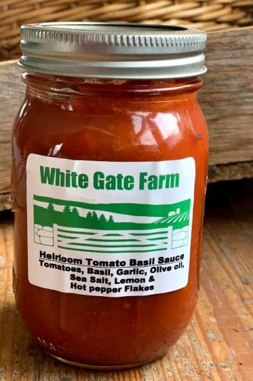Heirloom Tomato Basil Sauce (Quart)