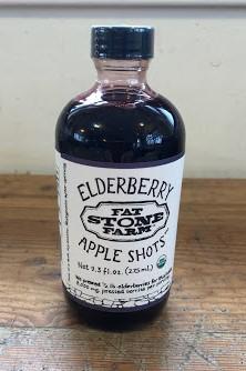 Fat Stone Farm Organic Elderberry Apple Shots