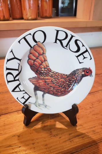 Rise & Shine (Early to Rise) - Plate