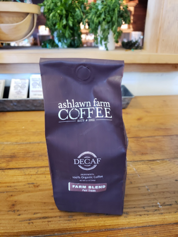 "Ashlawn Farm ""Farm Blend"" -  Whole Bean (DECAF)"