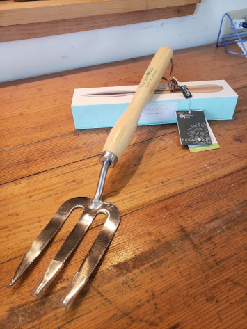 Burgon & Ball Mid-Handed Fork