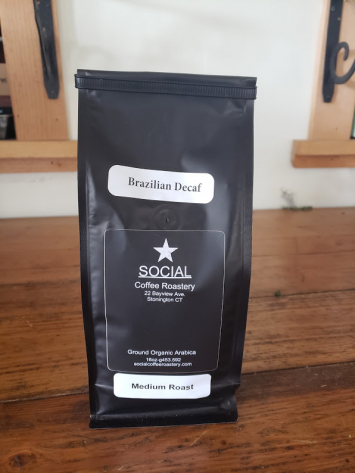 "Social Roastery ""Brazilian"" - Ground (DECAF)"