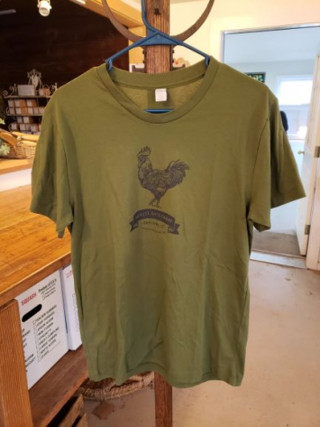 WGF T-Shirt - Mens - Olive Green - Size Small