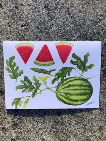 Note Card - Watermelon