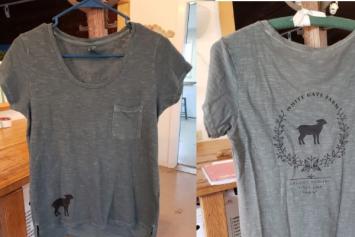 WGF T-Shirt - Womens - Black on Grey/Green - Size Small