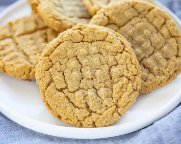 Peanut Butter Cookies (GF)