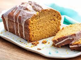 Pumpkin Bread w/Salted Brown Butter Glaze - Mini Loaf
