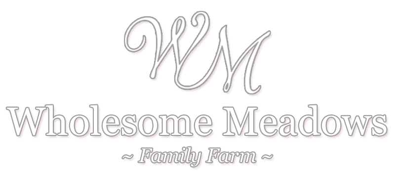 Wholesome Meadows Farms Logo