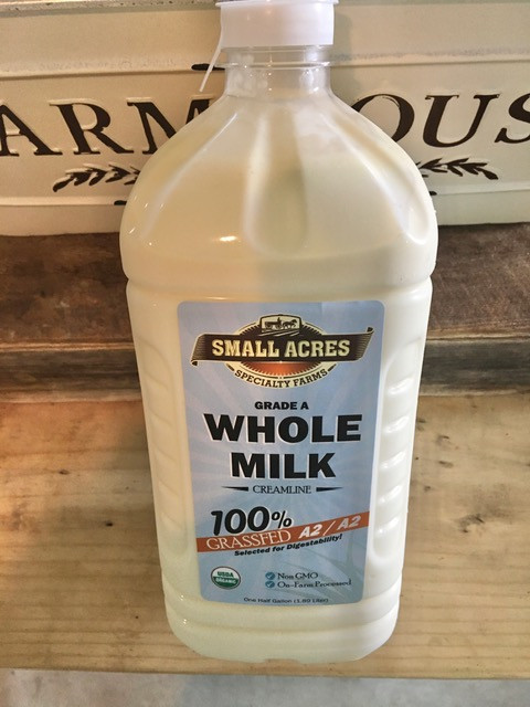 A2A2 Grass Fed Whole Milk
