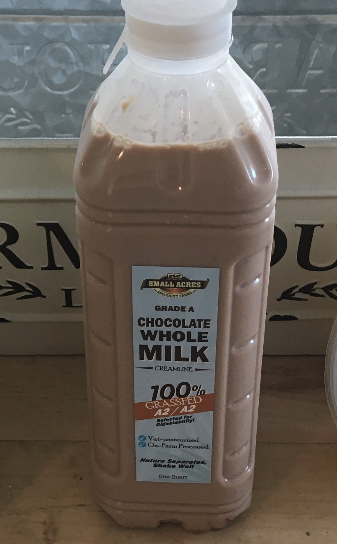 A2A2 Grass Fed Chocolate Milk