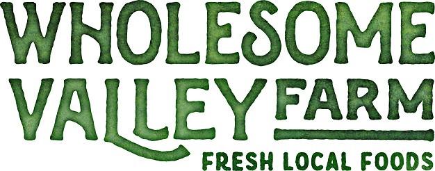 Wholesome Valley Farm Logo