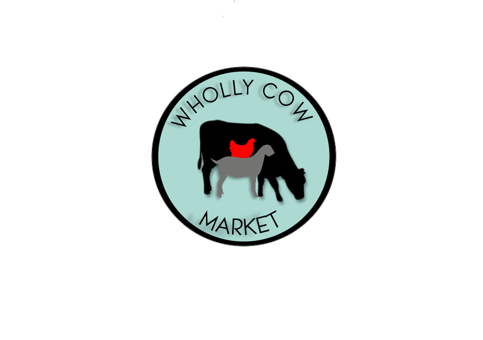 Wholly Cow Market Logo