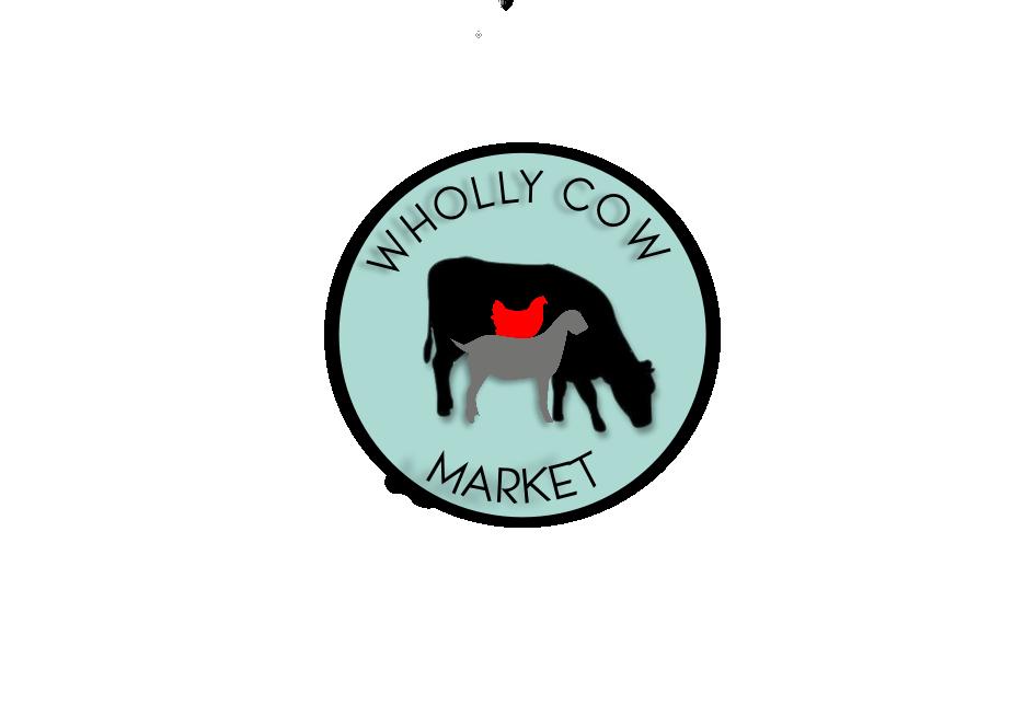 Wholly Cow Market Logo