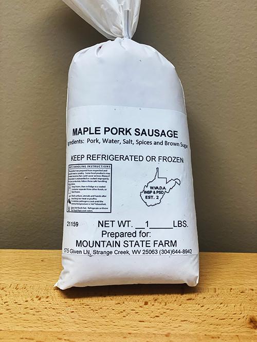 Maple Pork Sausage
