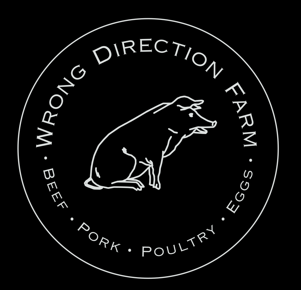 Wrong Direction Farm Logo