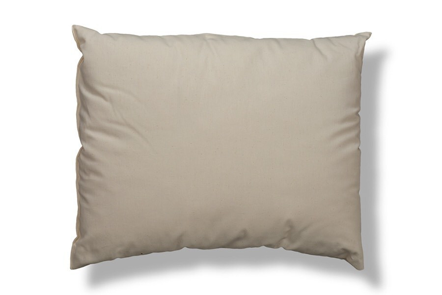 100% Organic Cotton Cover Wool Filled King Pillow