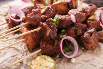 Sirloin Tip Kebabs