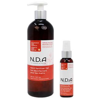 Hand Cleanser Gel, Fragrance Free, Travel Size