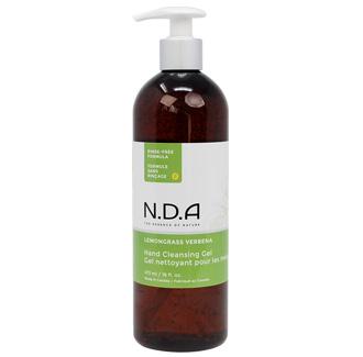 Hand Cleanser Gel, Lemongrass Verbena, Pump bottle