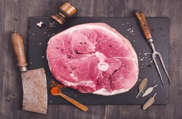 Ham Steak - Cured Bone-in