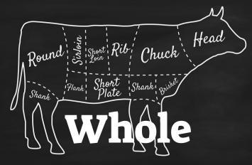 Beef Whole DEPOSIT