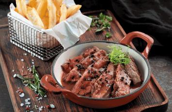 Flat Iron Strip Steaks - 3 Pack