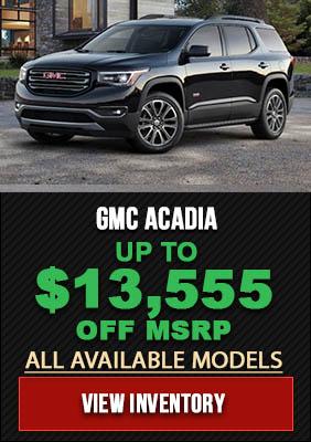 GMC Acadia Deals Massachusetts