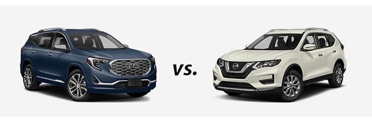 2018 GMC Terrain vs. 2018 Nissan Rogue
