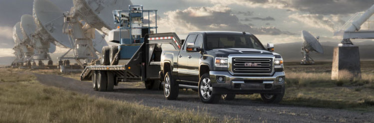 2018 GMC Sierra 2500HD vs. Competition