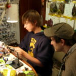 Fly tying classes for young and old