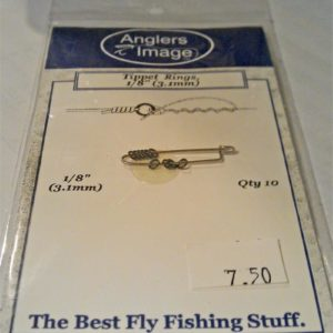 Angler's Image Tippet Rings - Black Nickel