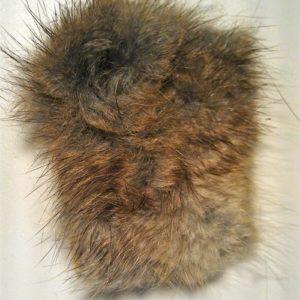 Dubbing Fur Piece - Muskrat