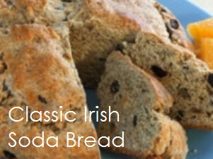 Irish sodabread with text