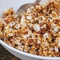 Healthy Family Movie Night snacks – Bacon Caramel Popcorn {gluten free, vegan}