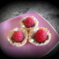 Low-calorie Chocolate Raspberry Pastry