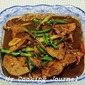 My Cooking Journal 18 - Stir Fry Pork Liver (猪肝)