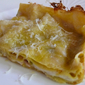 white lasagna with zucchini