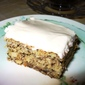 Banana Nut Cake with Black Walnut Frosting
