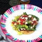 Chipotle Chicken Tostadas with Fresh Corn Salsa