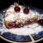 Easy shredded pie with cherries (or jam)