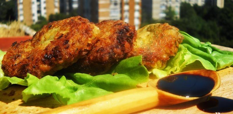 Chickpeas Veggie Burger Patties