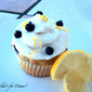 Lemon-Blueberry Cupcakes and a Winner