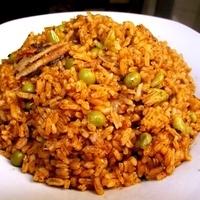 Sardine rice (sardine locrio or pica pica locrio)
