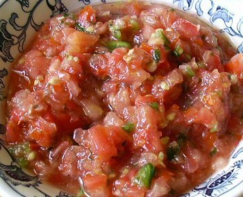 Mexican-Style Hot Salsa Sauce Recipe by Mitch - CookEatShare