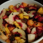 Summer Fruit Salad with Lime-Mint Sugar