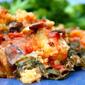 June-uary crockpot polenta lasagna