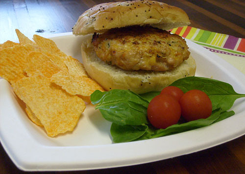 Southwestern Turkey Burger