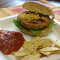 Turkey Taco Burger