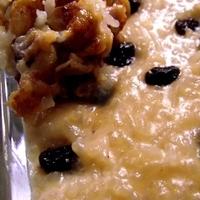 Milk rice (Arroz con leche)