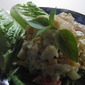 Rice and Crab salad fast and easy!